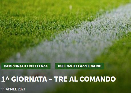 Articolo più recente dal Blog - 11/04/2021 -  1^ GIORNATA – TRE AL COMANDO