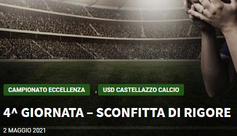 Articolo più recente dal Blog - 02/05/2021 -  4^ GIORNATA – SCONFITTA DI RIGORE