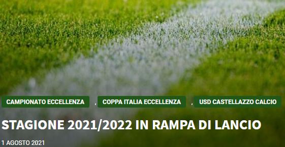 Articolo più recente dal Blog - 01/08/2021 -  STAGIONE 2021/2022 IN RAMPA DI LANCIO