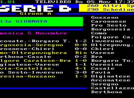 13^ GIORNATA – IL CASTELLAZZO SUBISCE IL POKER